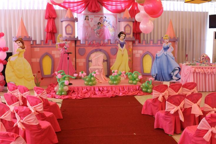 Disney Princess Stage Backdrops And Princesses On Pinterest