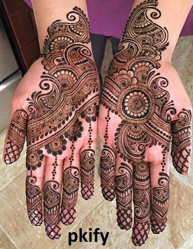 Latest Arabic Mehndi Designs for Hands