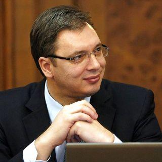 El líder del Partido Progresista Serbio, que ha ganado con mayoría las…