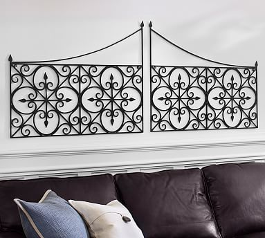 Iron gate potterybarn decorating my walls pinterest for Unique home decor accessories