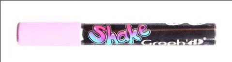 Graph'it Shake tusch med lilla farve til din kreative hobby som maling på sten, på tekstiler, på glas og meget mere.
