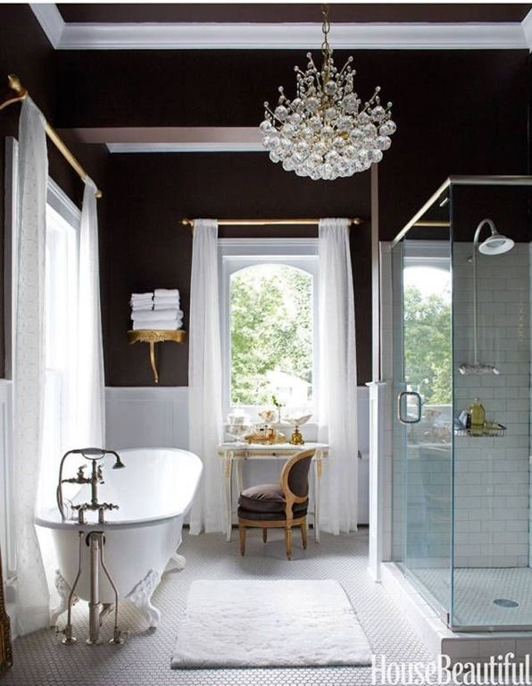 Best 25 Bathroom Chandelier Ideas On Pinterest  Master Bath Impressive Bathroom Chandelier Design Inspiration