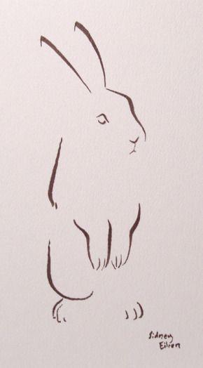 Minimalist Bunny