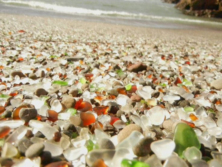 Are you wondering where you can find sea glass? Check out the best beaches to find sea glass in the United States.