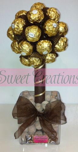 ferrero rocher tree - this would be a great gift for a rocher lover :)