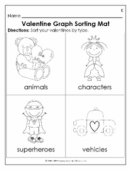 valentine's day graph art
