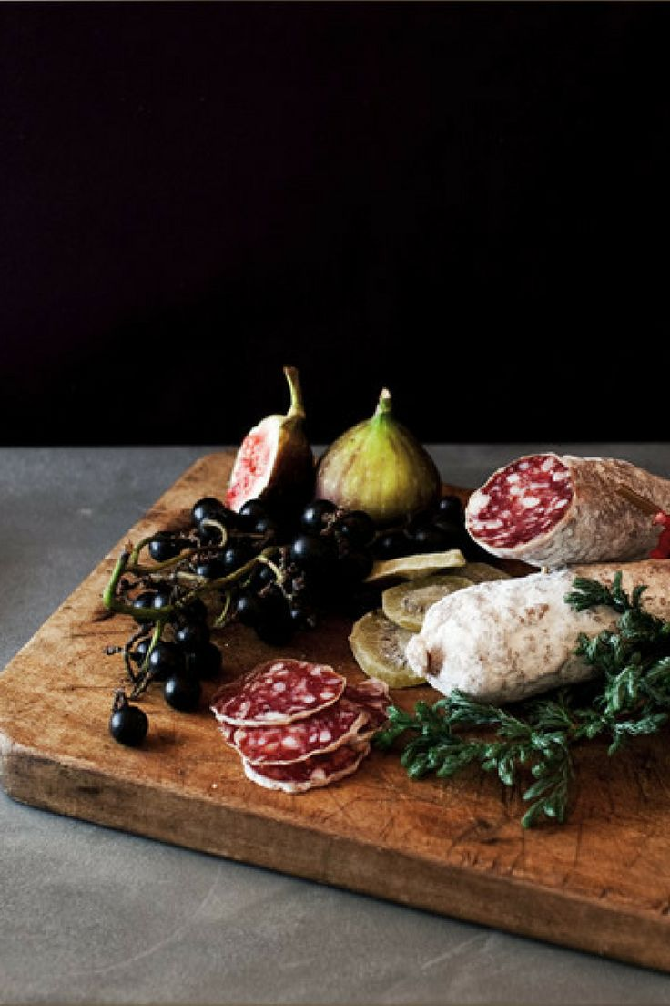 Fig Mostarda with White-rind Salami  http://gqjapan.jp/special/xmas2013/foods/recipe03.html