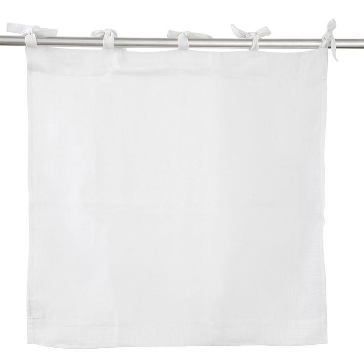 Délicat et plein de subtilité, ce brise vue en étamine de lin est idéal pour l'intérieur de votre maison.