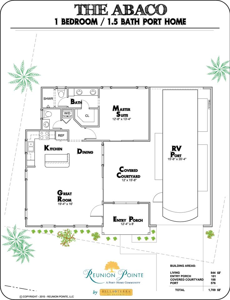 The Abaco RV Port-Home model by Reunion Pointe by Bella Terra