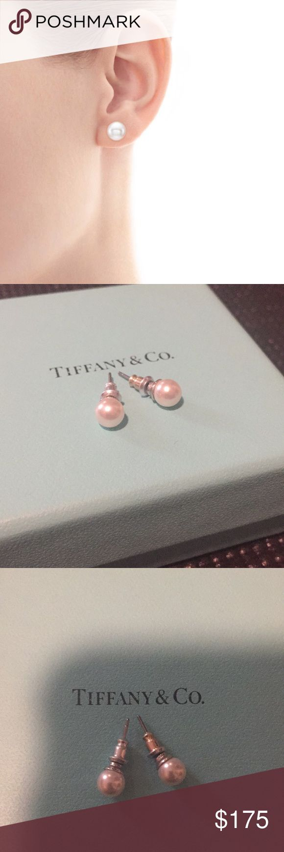 Tiffany pearl earrings Beautiful, elegant, and classic freshwater pearl earrings from Tiffany & Co. Tiffany & Co. Jewelry Earrings