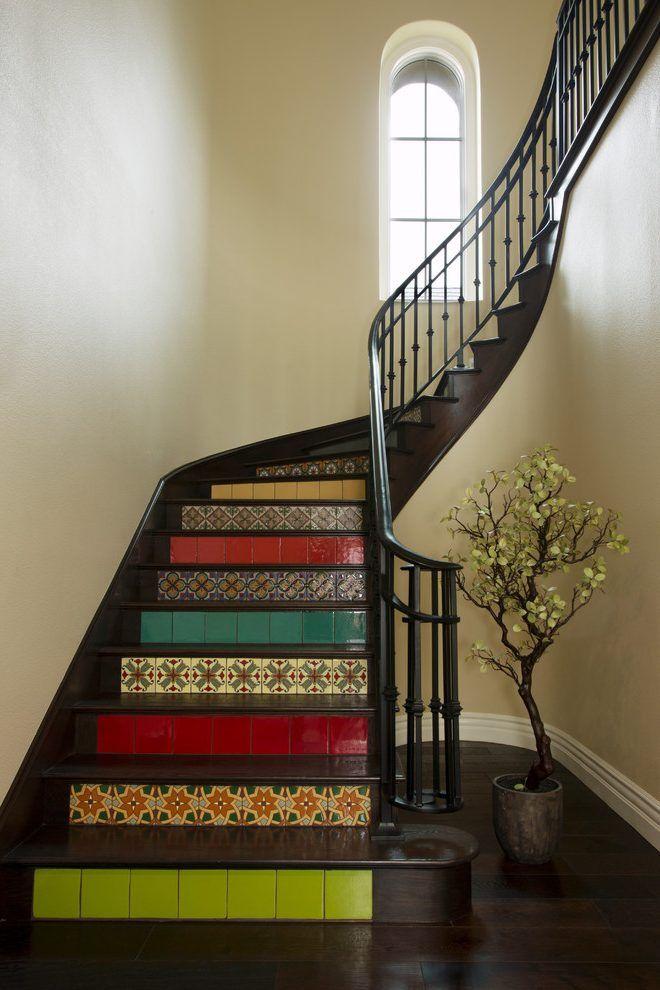 Found On Bing From Www Billielourd Org Stairs Design Engineered | Dark Wood Stair Treads | Timber | White Handrail | Dark Stained | Natural Wood | Wood Finish