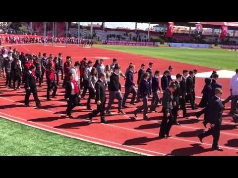 18 Mart Çanakkale Deniz Zaferi 100.yıl dönümü kutlamaları Geçit Töreni2 - YouTube