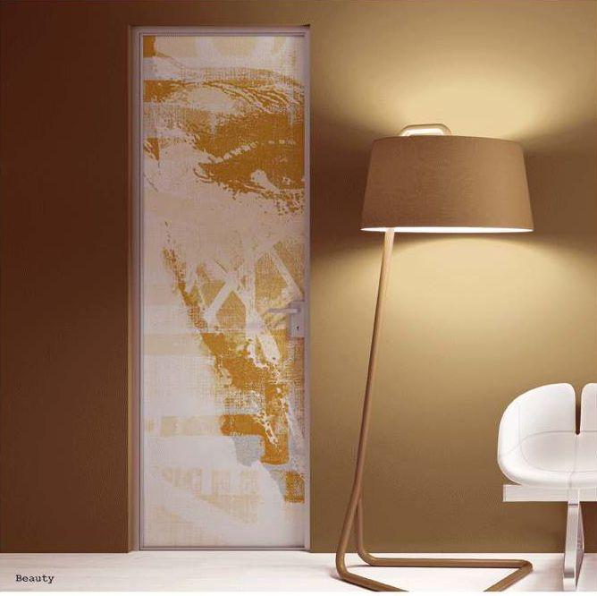 "Telaio minimale in alluminio ""M10"" Anta singola battente Mod.Beauty_Collezione ARTWORKS ""M10"" minimal aluminum frame Single hinged door Mod.Beauty_ARTWORKS Collection di #MRartdesign"