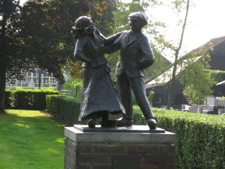 """Giethoorn, The Netherlands """"De Gieterse Daansers"""", by Jan Krikke"""