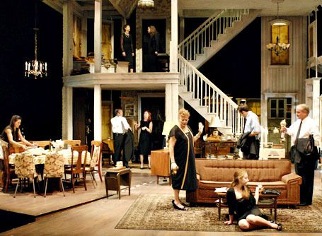 August Osage County our theater just put this play on and it was worth the 3 hours to watch it, I love our theater department.