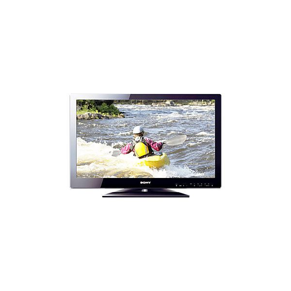 "Sony 32"" 720p LCD flat screen TV ❤ liked on Polyvore featuring home"