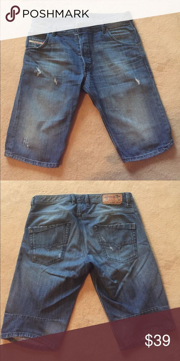 Men's shorts Diesel men's jean shorts in perfect condition Diesel Shorts Jean Shorts