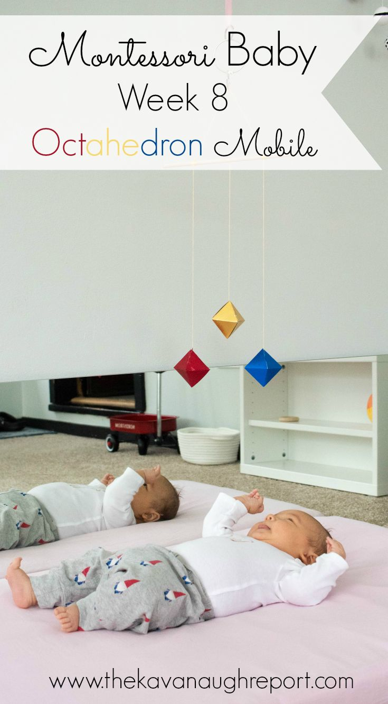 Montessori Octahedron Mobile