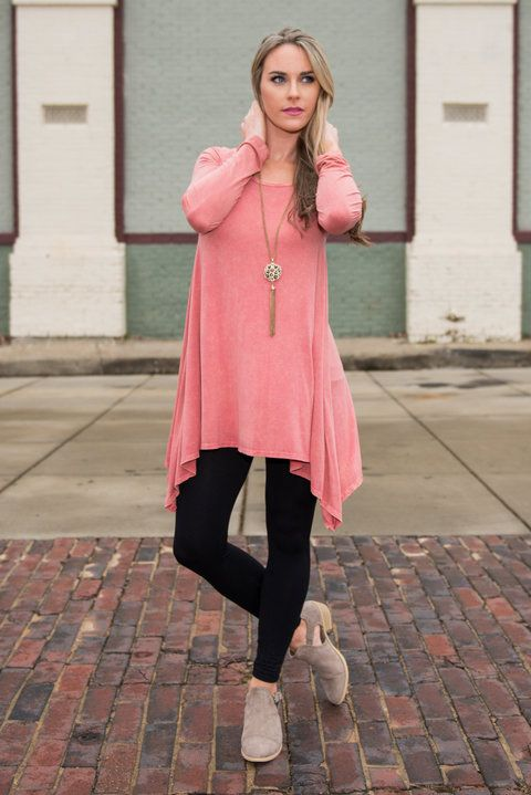 What's New Tunic, Blush - The Mint Julep Boutique