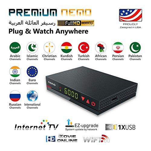 2018 Premium Nemo, Arabic & Worldwide IPTV, Smallest Internet Receiver in the World Ability to Record and watch up to 3 days before,HD beIN Sports Channels Included Exclusive Seller USA and Canada #Premium #Nemo, #Arabic #Worldwide #IPTV, #Smallest #Internet #Receiver #World #Ability #Record #watch #days #before,HD #beIN #Sports #Channels #Included #Exclusive #Seller #Canada