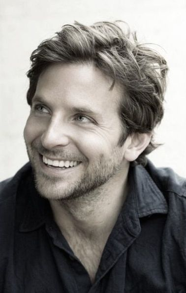 I have a thing for Bradley Cooper these days, so it shouldn't be a surprise that I kind of see him as my Beck. I mean, just look at that smile!