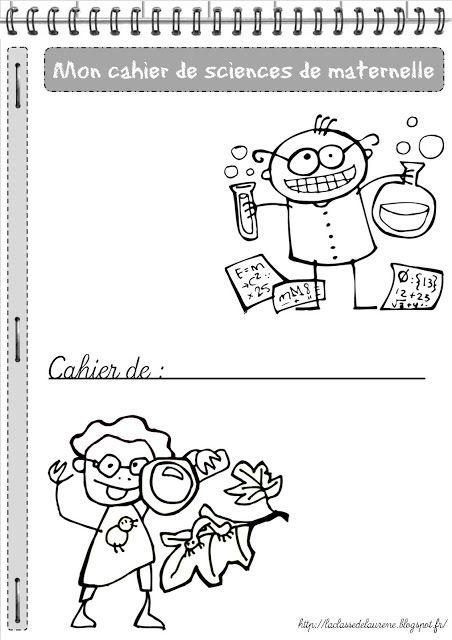 La maternelle de Laurène: Le cahier de sciences