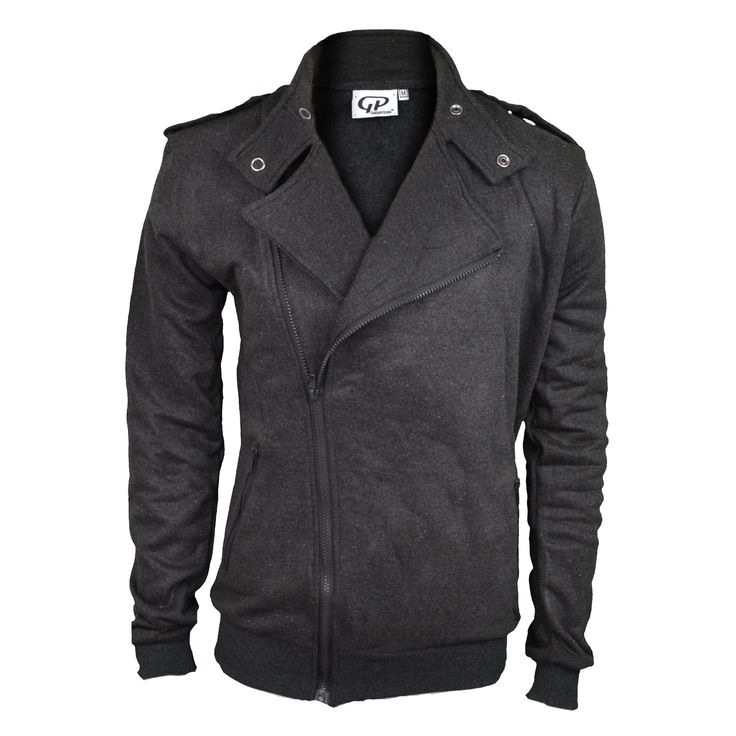 Biker vest grey http://mymenfashion.com/biker-vest-grey-black.html