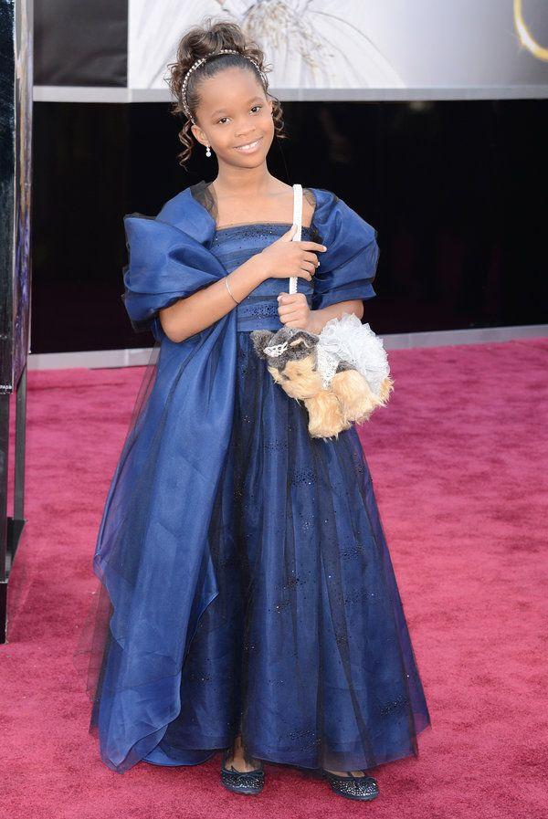 Quvenzhane Wallis youngest best actress nominee | Oscars 2013