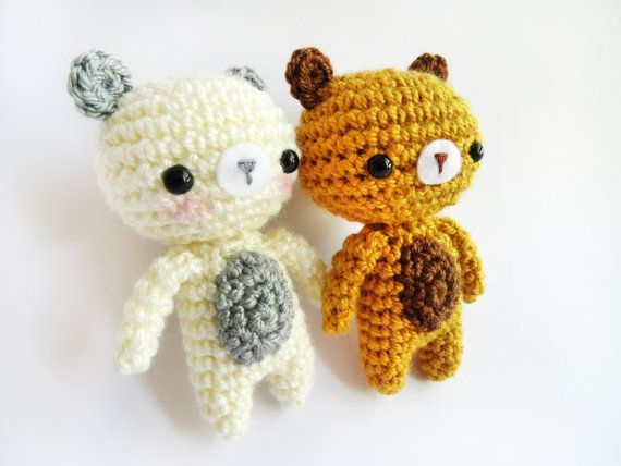 Amigurumi Crochet PDF Pattern  Little Bear