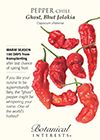 Pepper Chile Ghost, Bhut Jolokia Seeds