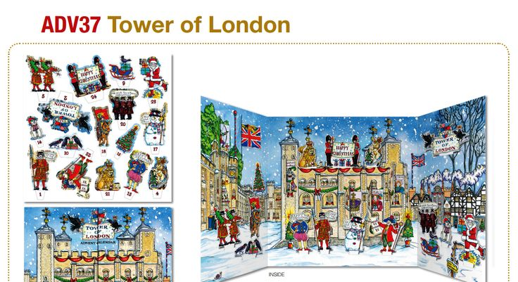 The Tower of London Advent Calendar - another great Phoenix Christmas gift