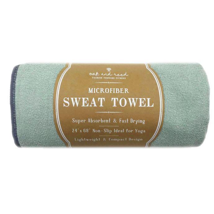 Oak and Reed© Microfiber Yoga Towel | Yoga towel, Microfiber, Towel