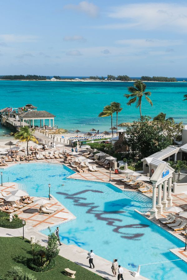 Gorgeous ocean views at Sandals Royal Bahamian (Photo by Alexis June Weddings)