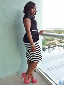 Curves and Confidence | A Miami Style Blogger: Peplum Problems