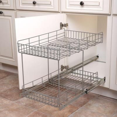 kitchen cabinet pull out wire baskets 45 best images about storage organization on 9133