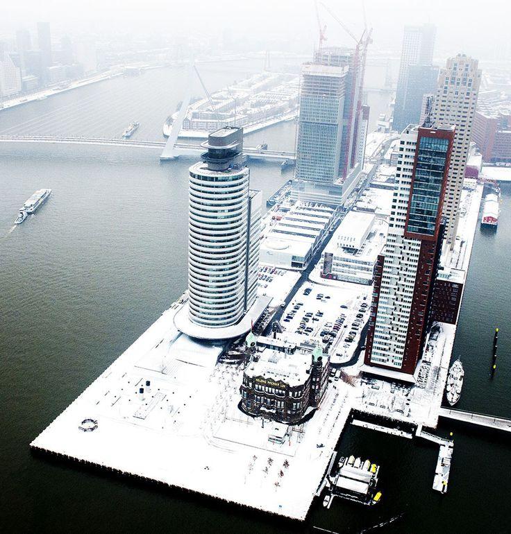 Rotterdam Wilhelminapier, Netherlands