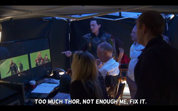 ehehehe ...'Loki' a boss ! - I agree with Tom on this one. Not enough Loki! (WE NEED A MOVIE, MARVEL! And if they do the Ragnarok plot, I want to see sigyn!)