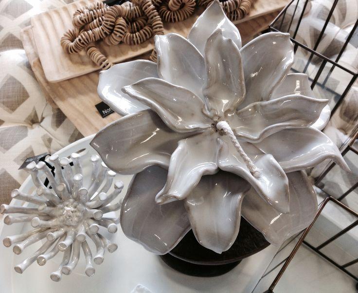 Ceramic floral burners, indeginous flowers @ Nom de plume studio