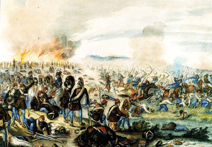 Than Mór: A nagysallói ütközet - 1849. április 19. győztes csata, Damjanich volt a magyarok tábornoka.