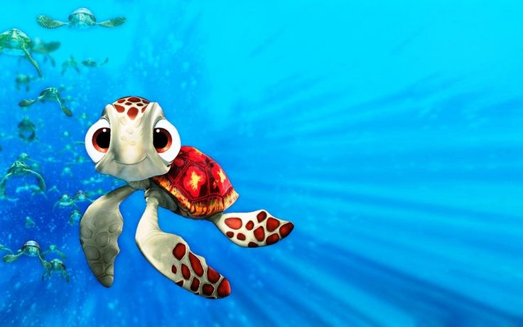 Finding Nemo Turtle HD Pictures