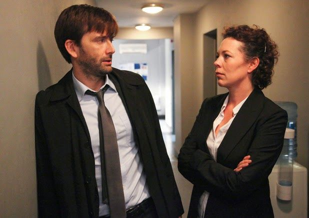 BROADCHURCH 2: ITV 'Expects' David Tennant And Olivia Colman To Return