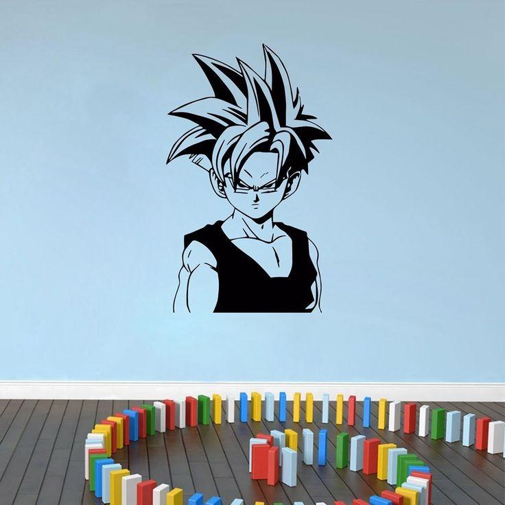 Dragon Ball Z (DBZ) Super Saiyan Gohan Anime Decal Sticker For Car/Truck/Laptop/Kids Room Decoration