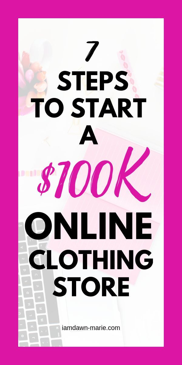 How To Start An Online Clothing Store In 10 Easy Steps Online Boutique Ideas Starting An Online Boutique Online Clothing Boutiques