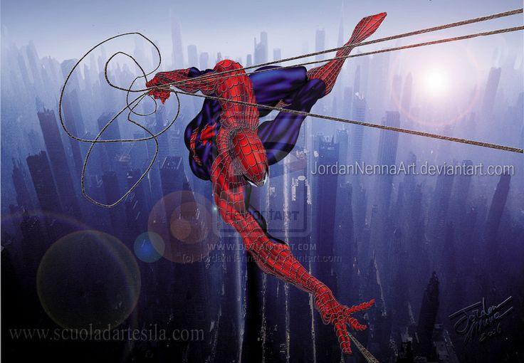 JordanNennaArt:Spider Man by JordanNennaArt.deviantart.com on @deviantART