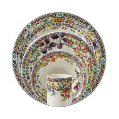 Gien France Bagatelle 4-Piece Place Setting | Bloomingdale's
