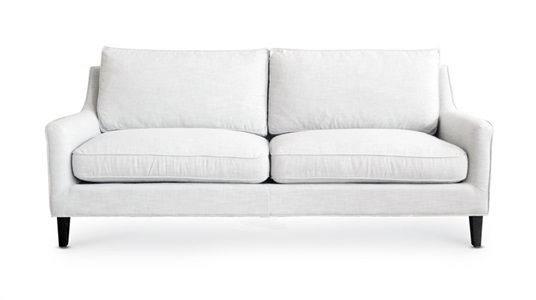 Add a light coloured couch to help your colour really pop!