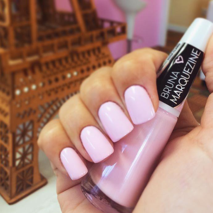unha-candy-color-bruna-marquezine-ludurana-rosa claro lindo
