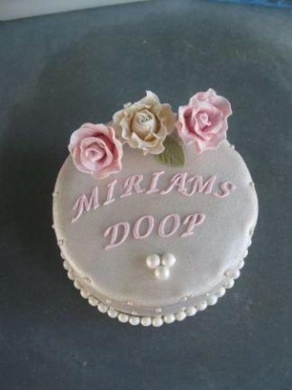 Ook mooie doop taarten besteld u bij taart op maat vathorst!
