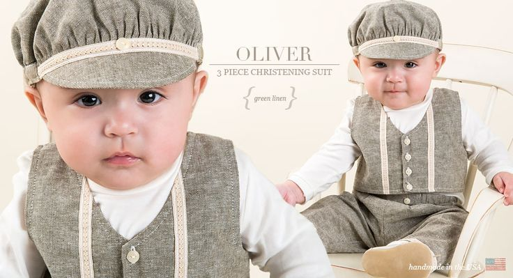 Oliver Boys Christening Suit Collection