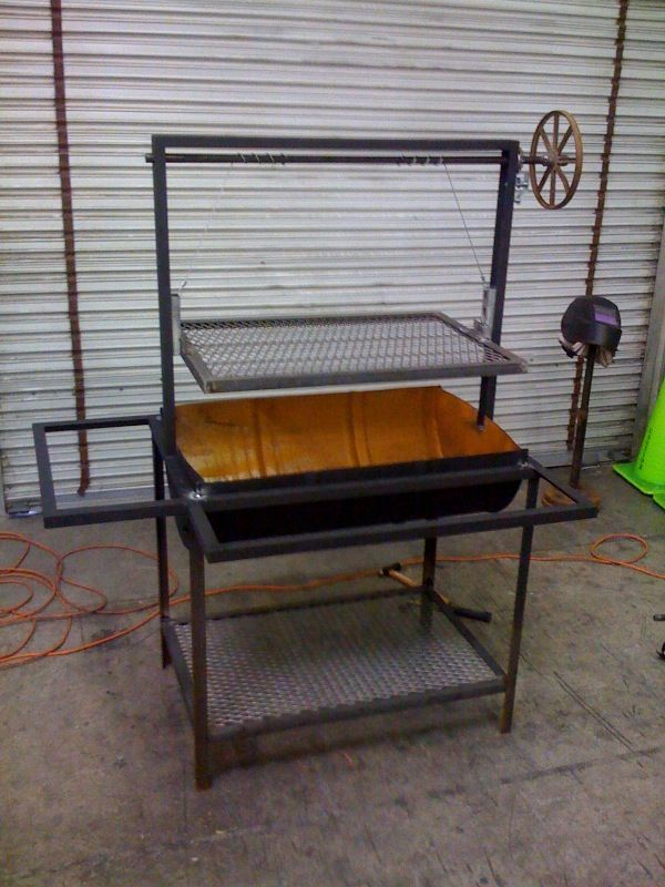 My first welding project a BBQ
